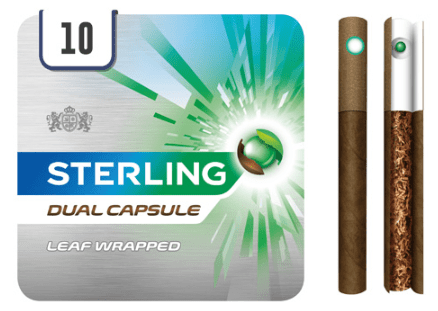 Promotional image of Sterling Dual cigarillos